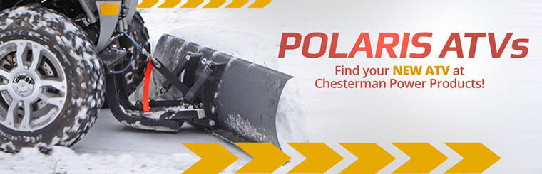 Find your new Polaris ATV at Chesterman Power Products!