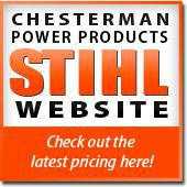 Chesterman Power Products Stihl Website - check out the latest pricing here!
