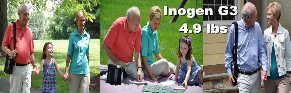 INOGEN G3 Portable Concentrator 9 hours