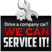 Drive a company car? We can service it!