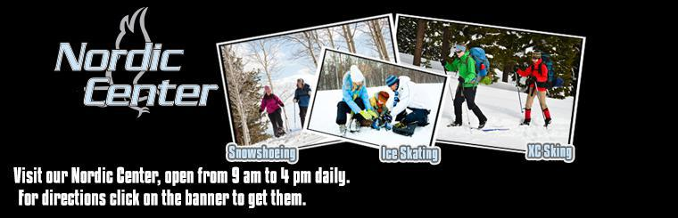 Visit the Nordic Center at Eagle Ridge Resort!