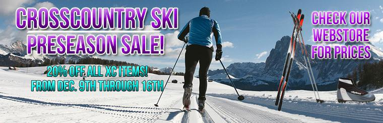 Cross Country Ski Sale!
