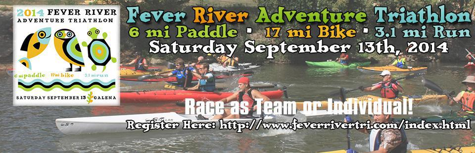 Fever River Adventure Triathlon 2014