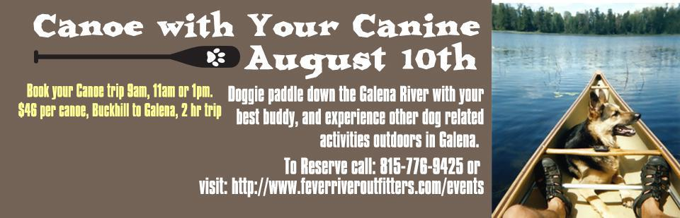 Canoe with Your Canine