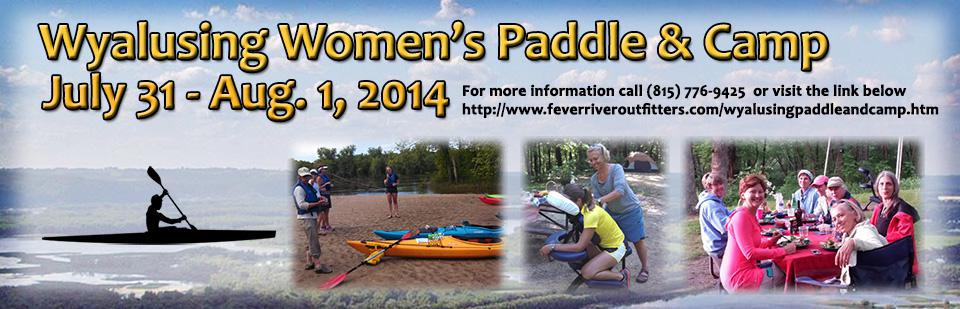 Wyalusing Women's Paddle & Camp