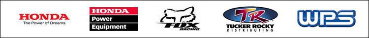 We proudly carry products from Honda, Honda Power Equipment, Fox Facing, Tucker Rocky, and Western Power Sports.