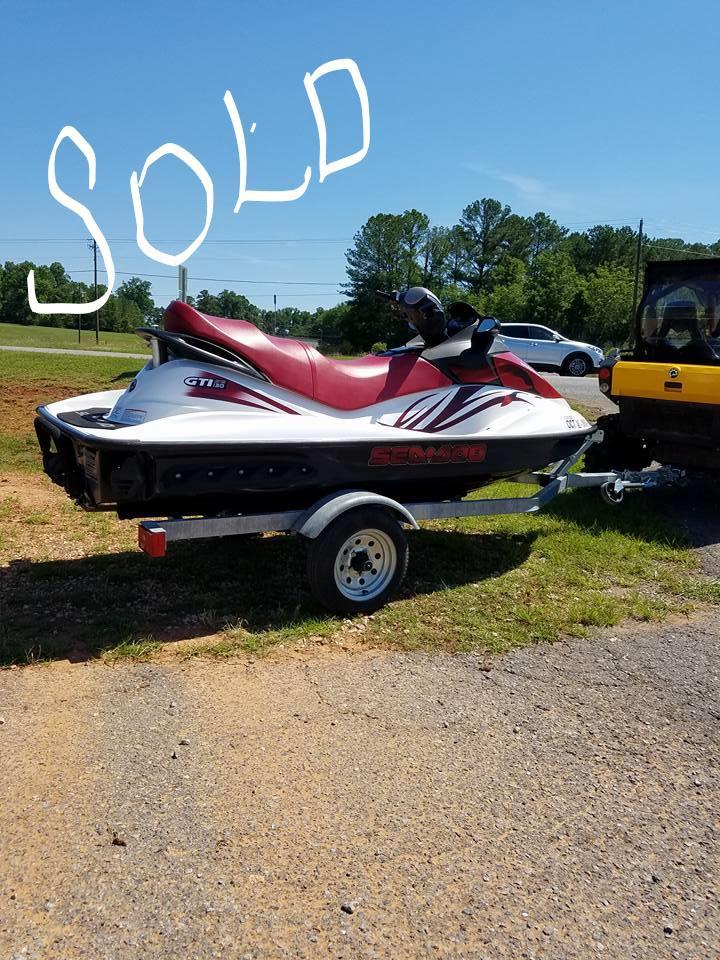 2008 Sea-Doo GTI 130 SE for sale in Sylacauga, AL | Yamaha of ...