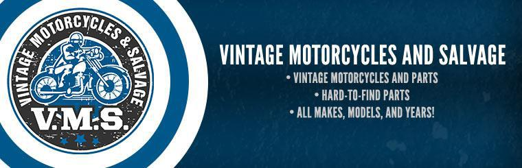 Vintage Motorcycles and Salvage: Contact us for details.