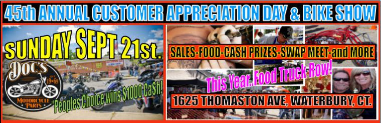 Customer Appreciation Day & Bike Show