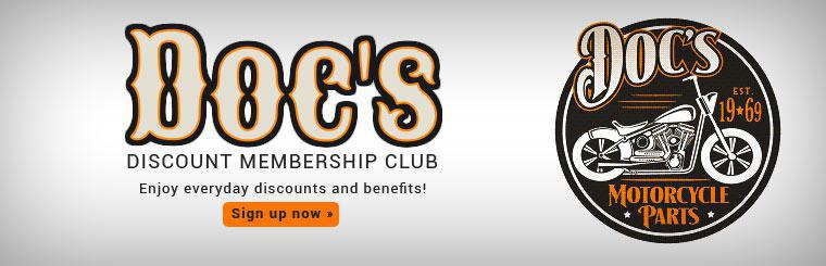 Doc's Discount Membership Club: Sign up now to enjoy everyday discounts and benefits!
