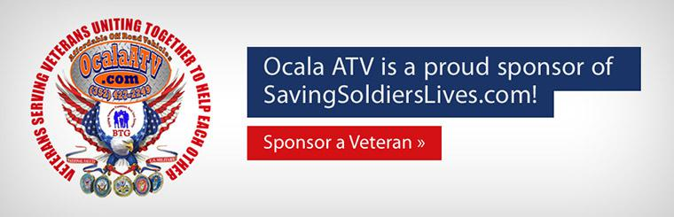 Ocala ATV is a proud sponsor of SavingSoldiersLives.com! Click here to sponsor a veteran.
