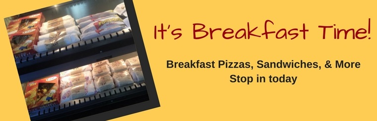 Stop in at University Station in Grand Forks, ND for your breakfast pizza, sandwich, and more!