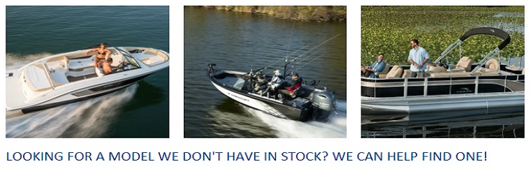 Hutchinson's Boat Works can help find your desired boat brand and model!