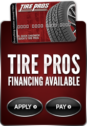 Tire Pros Financing Available