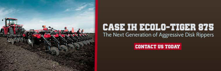 Case IH Ecolo-Tiger 875: Click here to contact us for details.