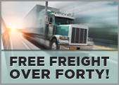 Free Freight over Forty!