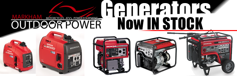 Honda Generators - Our Current Inventory