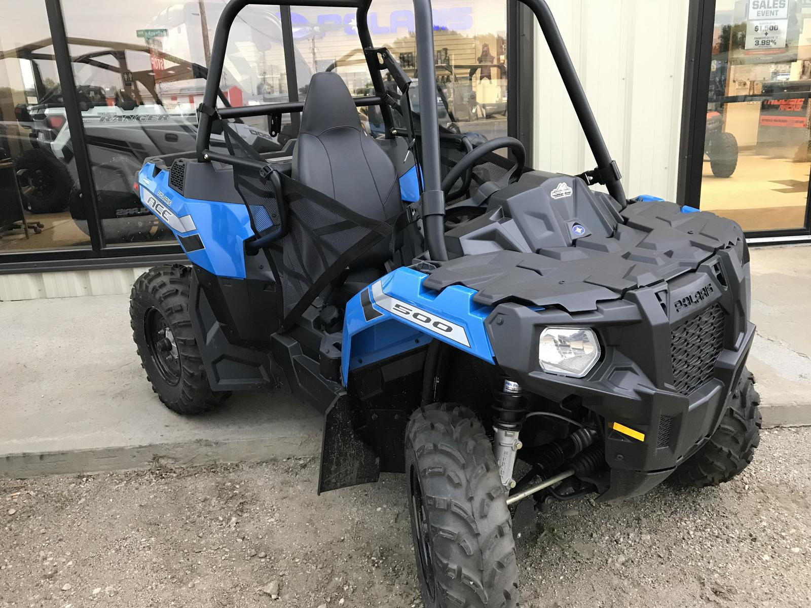 Polaris Ace For Sale >> 2019 Polaris Industries Polaris Ace 500 Velocity Blue