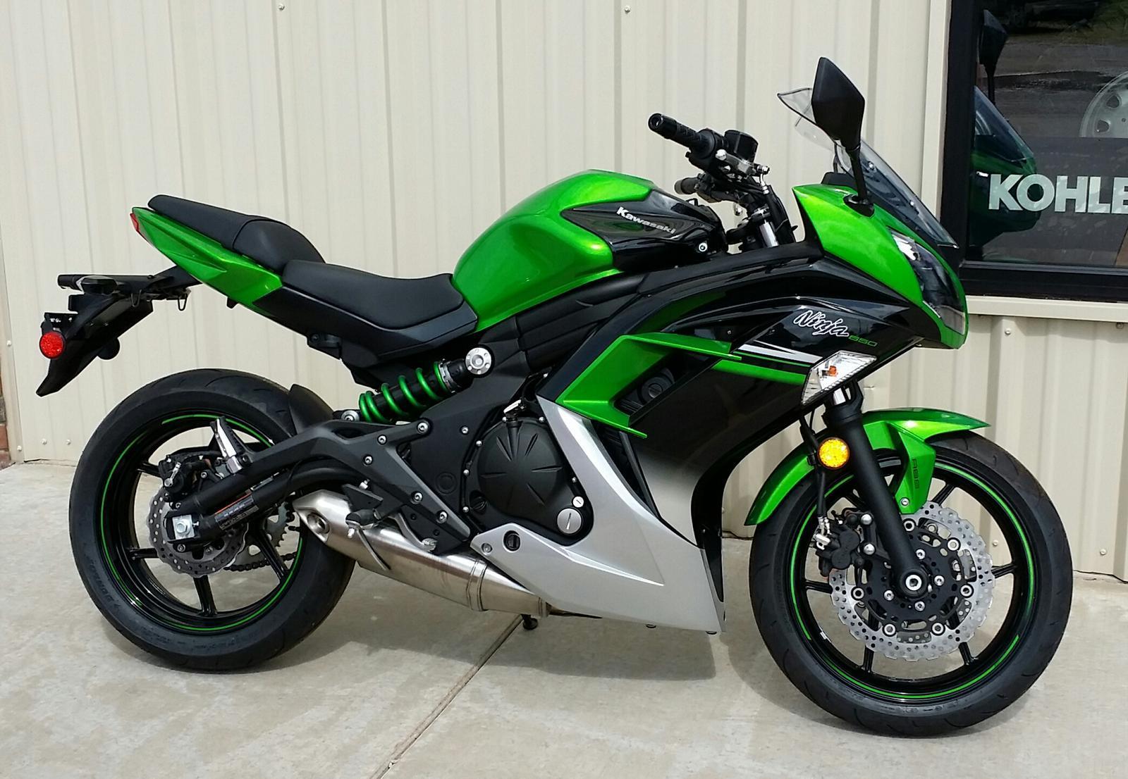 2016 Kawasaki Ninja® 650 ABS for sale in Hesston, KS | Dan's Cycle ...