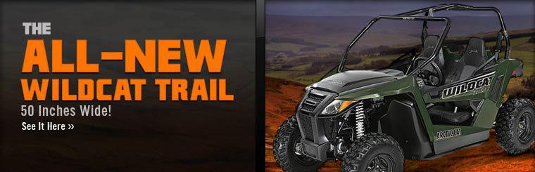 Click here to see the All-New Arctic Cat Wildcat Trail.