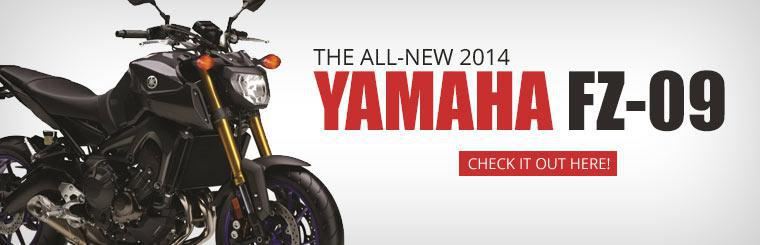 Check out the all-new 2014 Yamaha FZ-09!