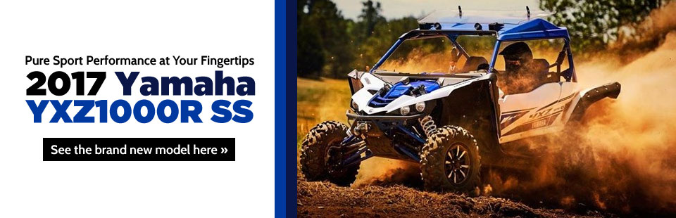 2017 Yamaha YXZ1000R SS: Click here to view the model.