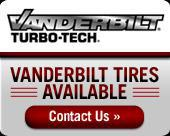Vanderbilt tires available!