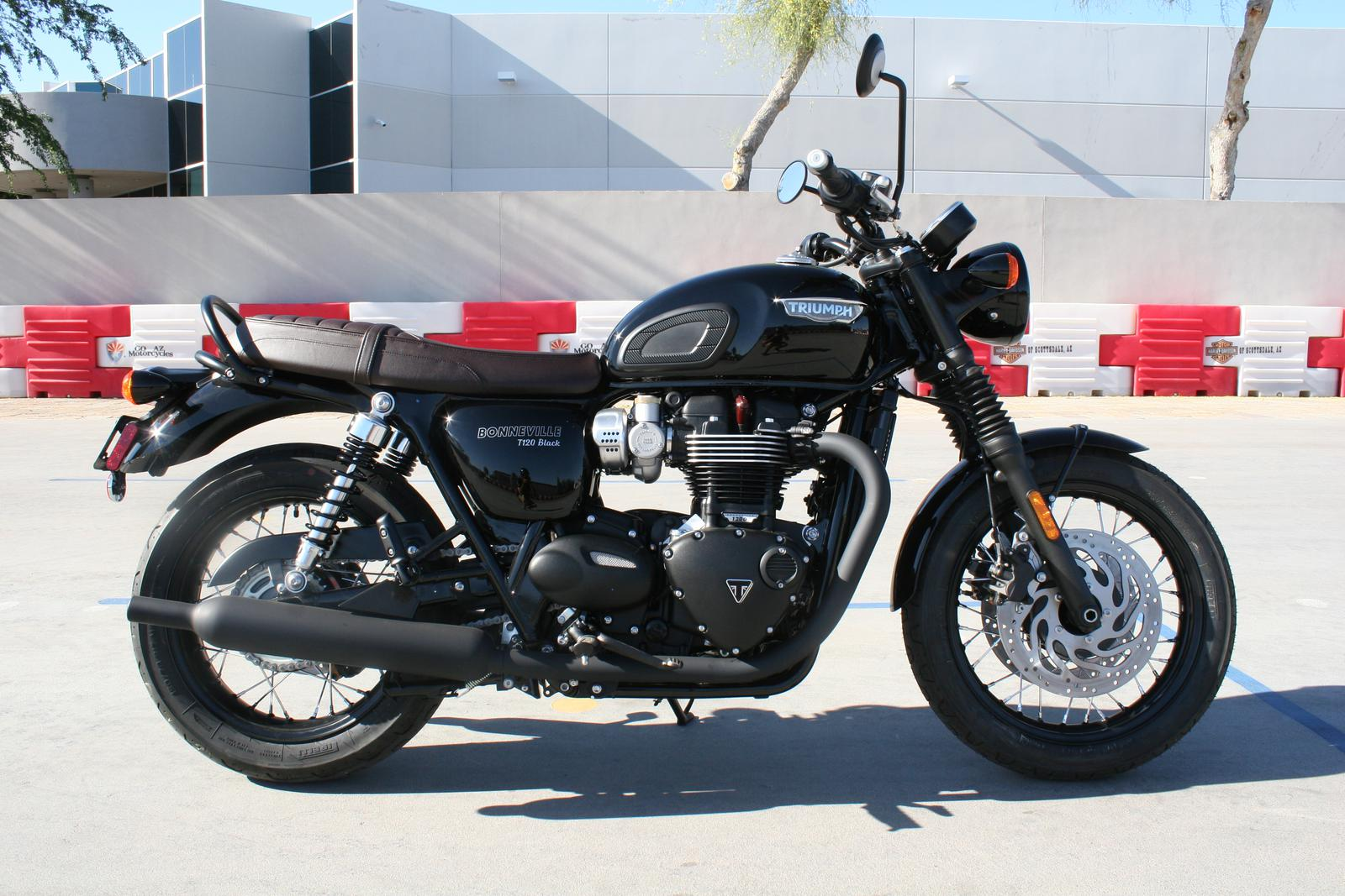 2019 Triumph Bonneville T120 Black For Sale In Scottsdale Az Go