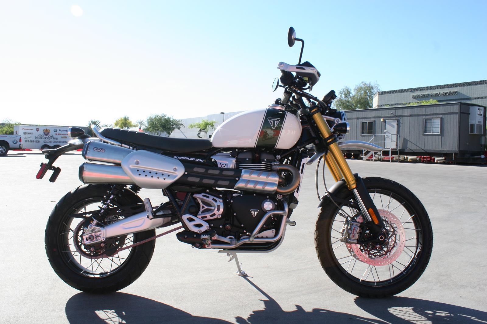 2019 Triumph Scrambler 1200 Xe For Sale In Scottsdale Az Go Az