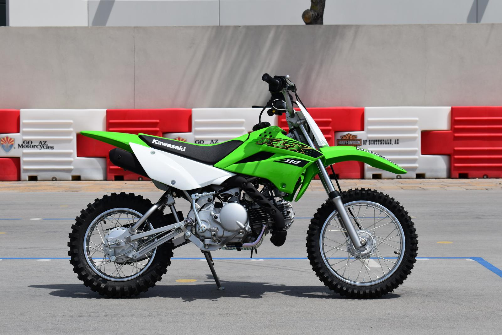 2020 Kawasaki KLX 110 on