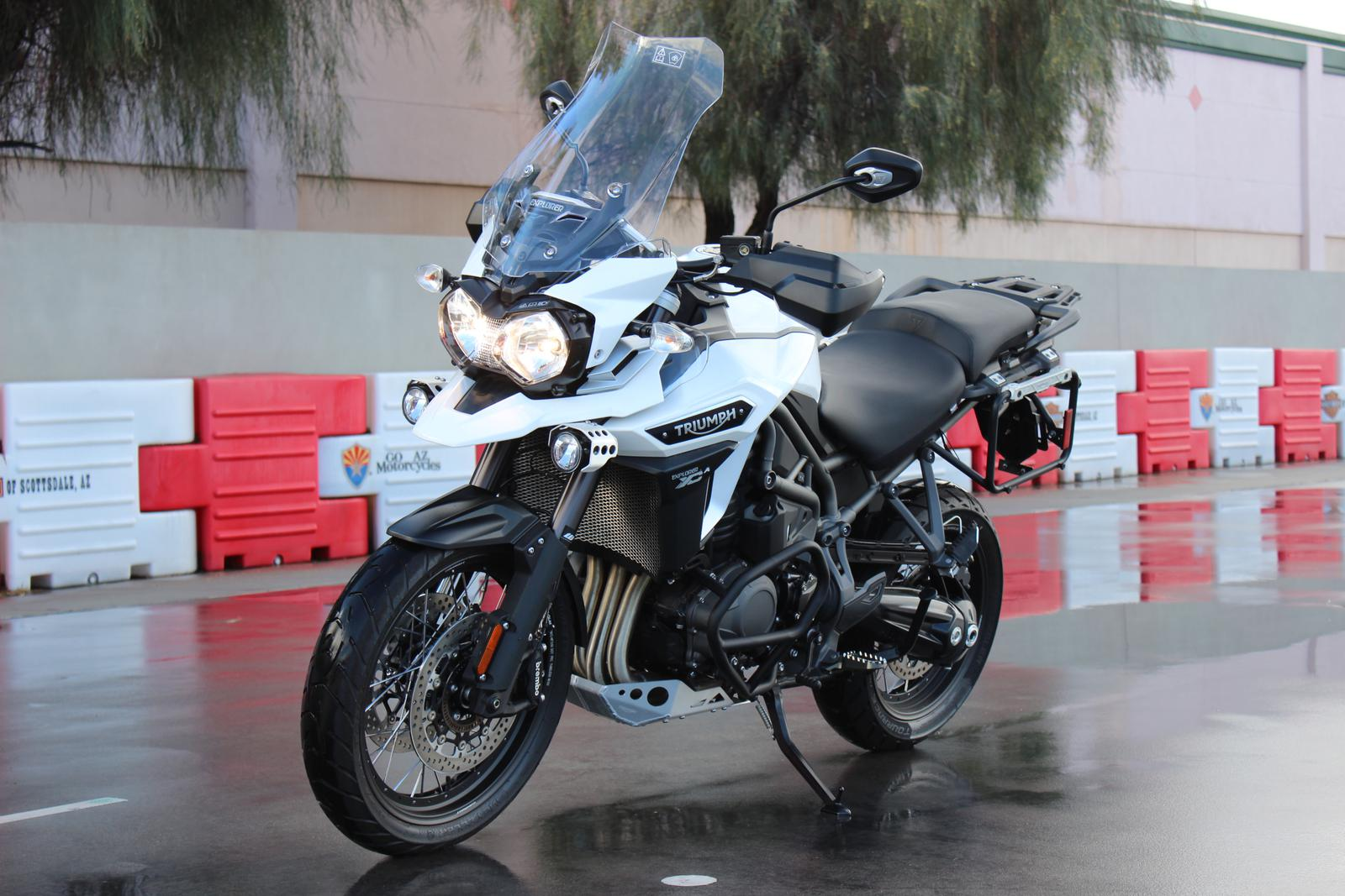 2017 triumph tiger explorer xca for sale in scottsdale, az | go az