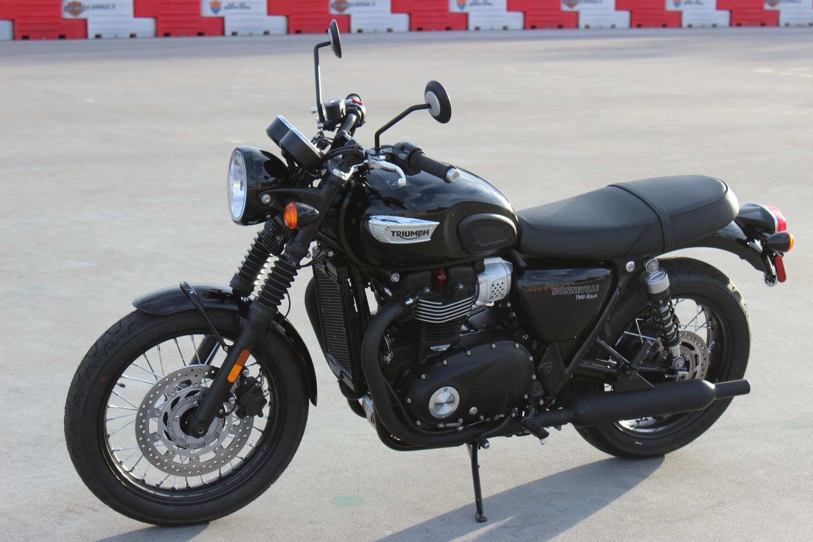 2017 Triumph Bonneville T100 Black For Sale In Scottsdale Az Go Az