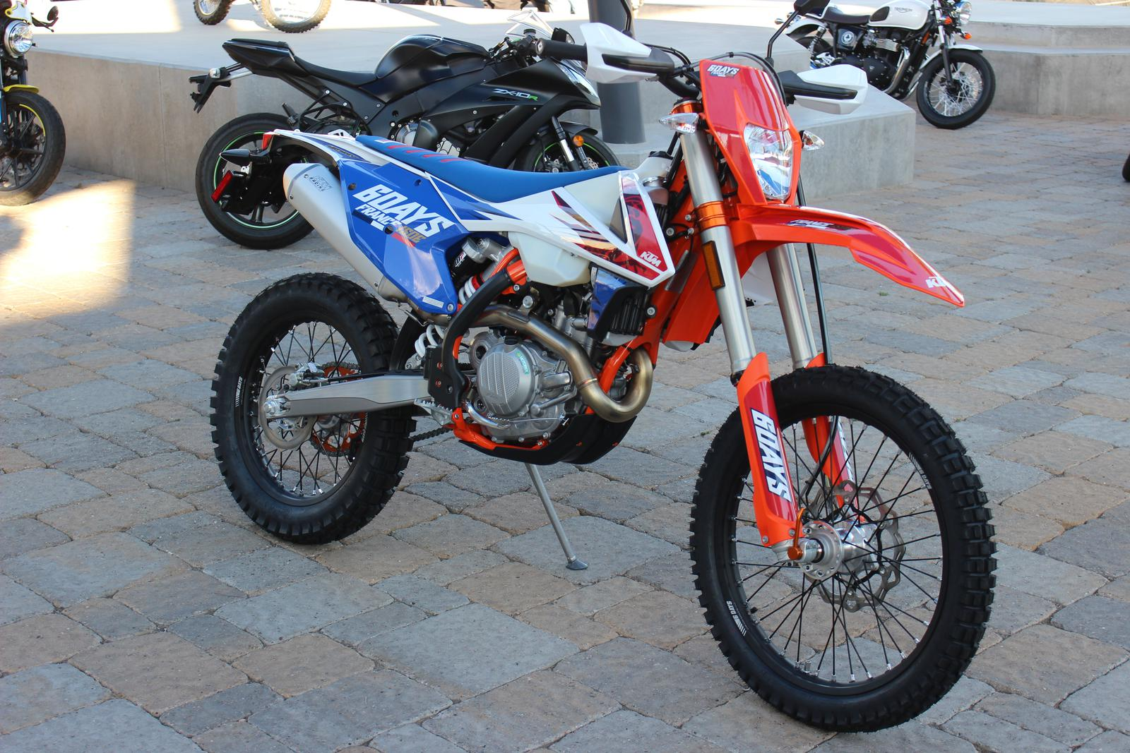 2018 ktm 450 six days. contemporary 2018 2018 ktm 450 excf six days for sale in scottsdale az  go motorcycles  480 6091800 to ktm six days p