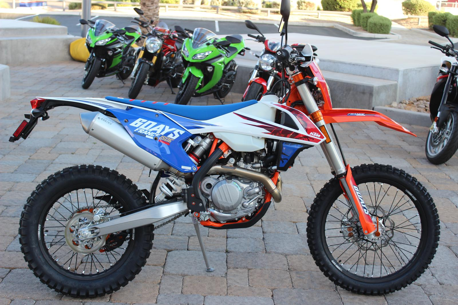 2018 ktm exc 450. delighful exc 2018 ktm 450 excf six days for sale in scottsdale az  go motorcycles  480 6091800 to ktm exc