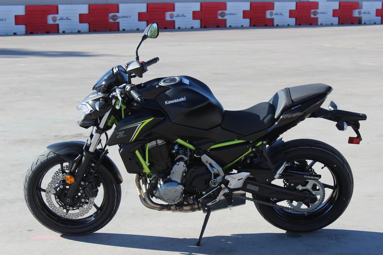 2018 Kawasaki Z650 6