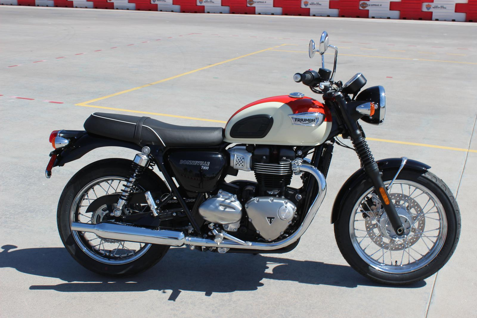 2018 Triumph Bonneville T100 2 Tone For Sale In Scottsdale Az Go