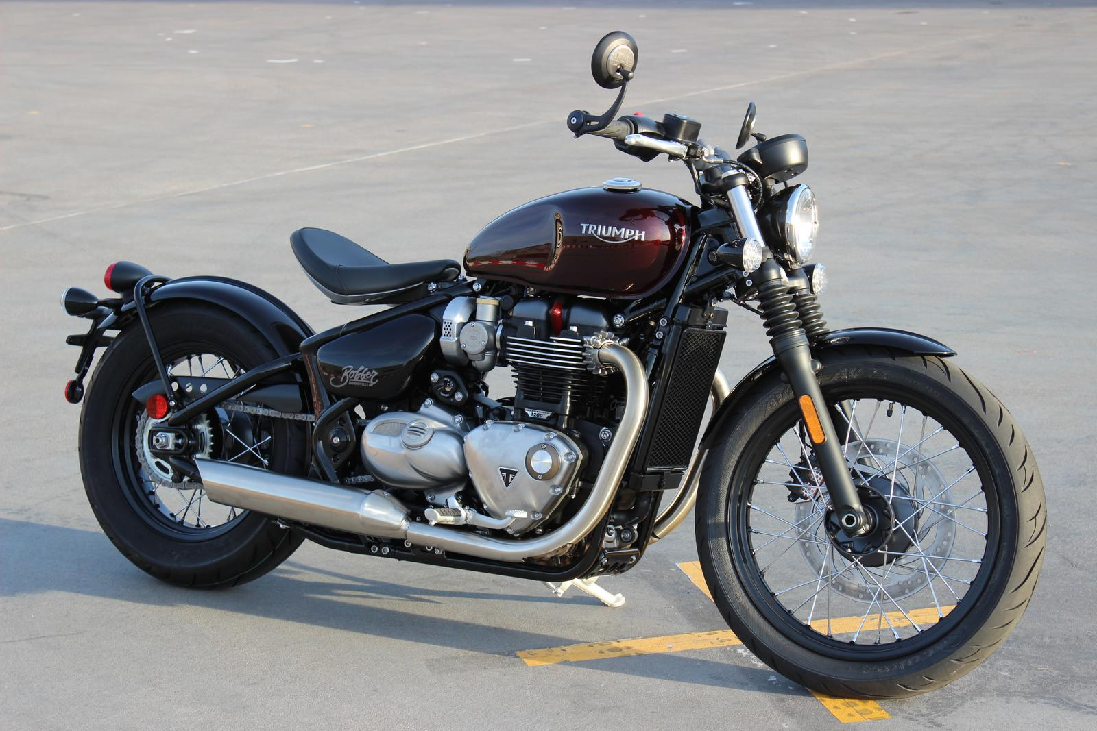 2018 Triumph Bonneville Bobber Color For Sale In Scottsdale Az