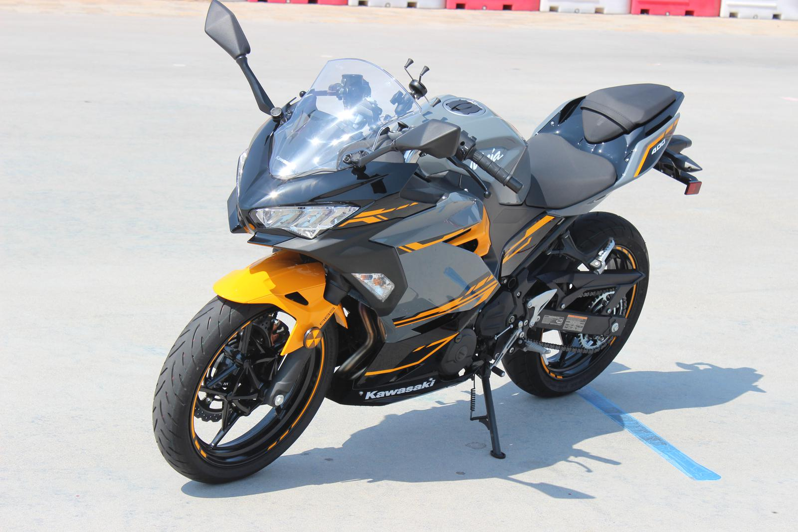 2018 Kawasaki Ninja 400 Abs Pearl Solar Yellowstorm Gray For Sale