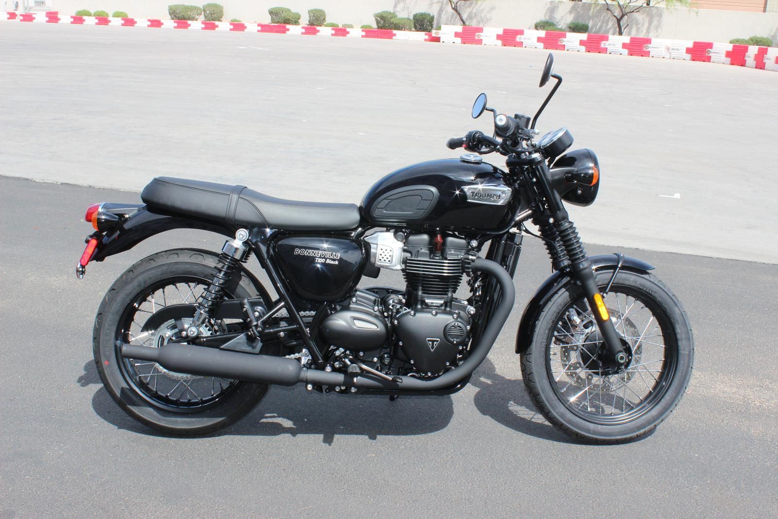 2018 Triumph Bonneville T100 Black For Sale In Scottsdale Az Go