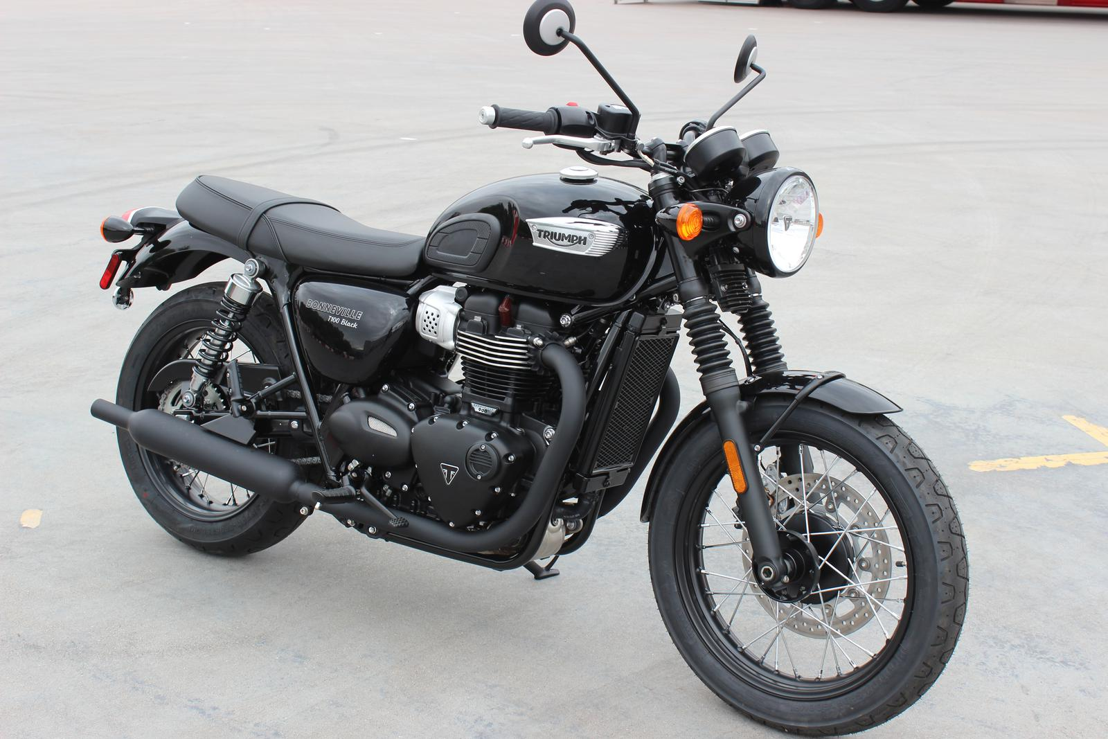 2019 Triumph Bonneville T100 Black For Sale In Scottsdale Az Go