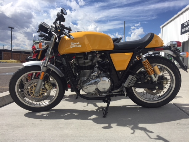 2015 Royal Enfield Continental GT - Cafe Racer