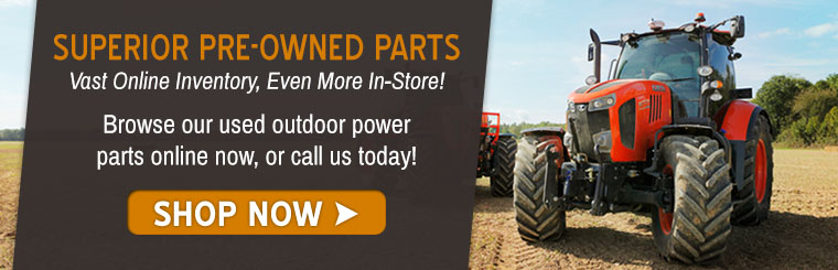 Shop Used Polaris & Kubota & Tractor & Mower parts at Normangee!