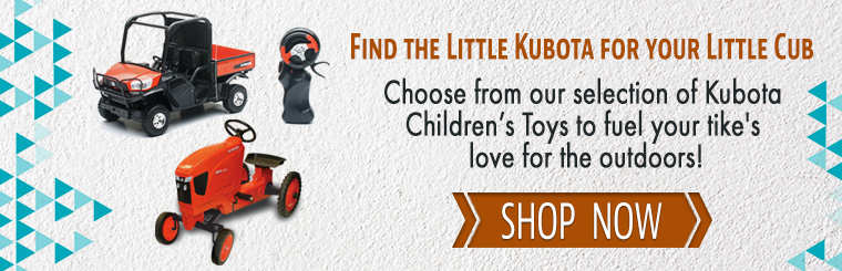 Shop Kubota Children's Toys: Pedal Tractors, Remote-Controlled Tractors & More