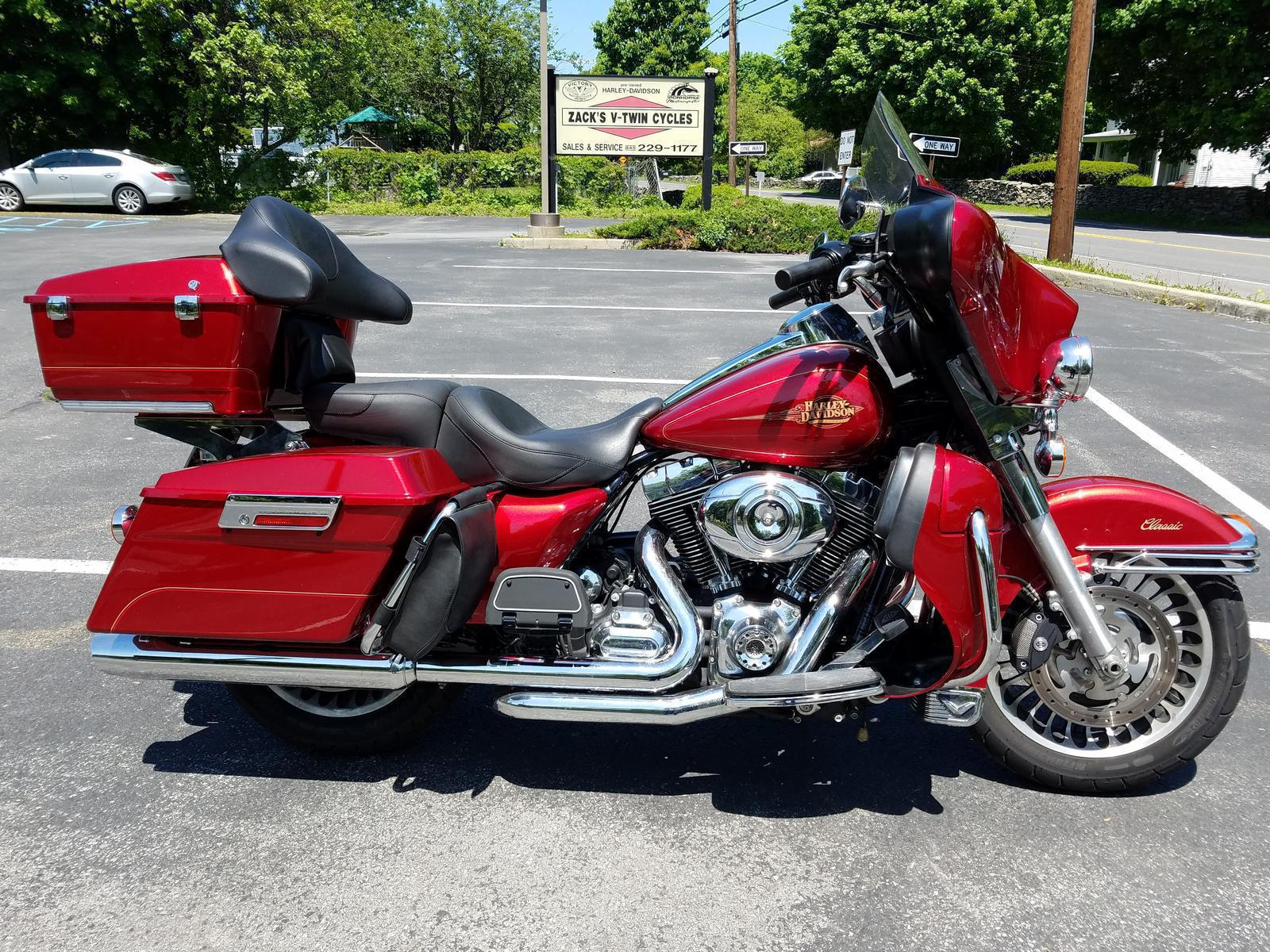 2012 Harley Davidson Flhtc For Sale In Hyde Park Ny Zacks V Twin Red Electra Glide Classic Right
