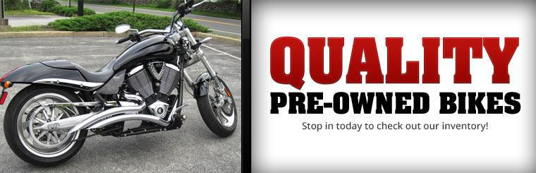 Stop in today to check out our inventory of quality pre-owned bikes!