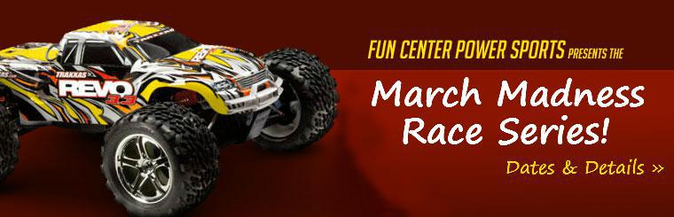 Fun Center Power Sports presents the Winter Race Series starting January 11th! Click here for dates and details.