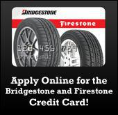 Apply Online for the Bridgestone and Firestone Credit Card!