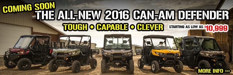 Can-Am Defender Side by Side