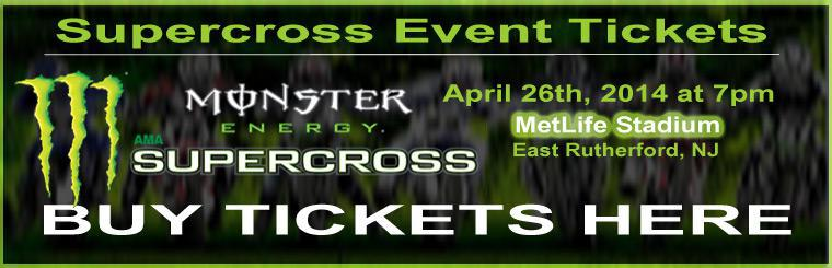 Monster Energy Supercross: Buy Tickets Here