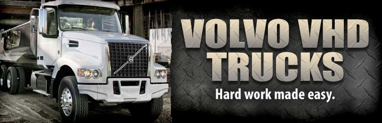 Volvo VHD Trucks: Hard work made easy.